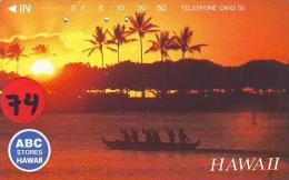 Télécarte Japonaise HAWAII Related (74) - Hawaï