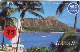 Télécarte Japonaise HAWAII Related (75) - Hawaï
