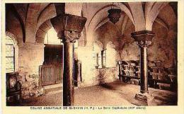 St Savin   1021        Eglise Abbatiale De St Savin. La Salle Capitulaire . - Autres Communes
