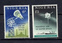 Nigeria Y&T 139/40 ** - Nigeria (1961-...)