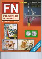 FN - FILATELIA NUMISMATICS - .2,5 And 12 º N, May And September 1881 And April 1982. Portuguese Magazine. (3 SCANS) - Revistas