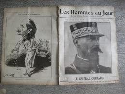 Revue Libertaire Hommes Du Jour 390 1915 Gouraud About Foulon Chevaux Hampol Caricature Ww1 Guerre - Guerre 1914-18