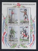 HISTORIA - FRANCIA 1989 - Yvert #H10 - MNH ** - Revolución Francesa