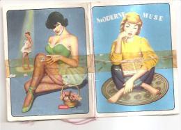 60176) Calendarietto Del 1961 Moderne Muse - Calendari