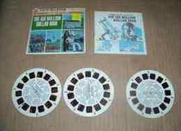 VIEW-MASTER THE SIX MILLION DOLLAR MAN 1974 - Visionneuses Stéréoscopiques