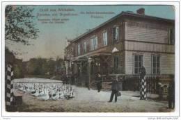 Lithuania.Werzbolovo.Vagono Stamp Werzbolovo-Wilno 1912 - Lithuania
