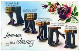 Le Langage Des Jambes - Fancy Cards