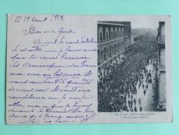 Les Troupes Américaines Défilent à PARIS En JUin 1917 - Guerre 1914-18
