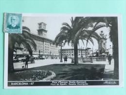 BARCELONA - Plaça D'Epanya - Escoles Municipales - Barcelona