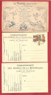 """N°Y&T SPECIALE """"LE TANKO""""+ 2 CARTES EN FRANCHISE NEUVES - Marcophilie (Lettres)"""