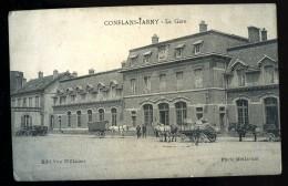 Cpa Du 54  Conflans Jarny  La Gare ..  Briey  MABT04 - Briey