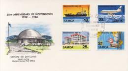 FDC Samoa 1982 - Samoa