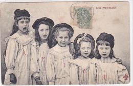 21948 Petites Filles Personnifiant Les Voyelles . - Trefle Andrieu CCCC - Enfants