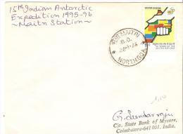 MAT INDIA  1986 - Bases Antarctiques