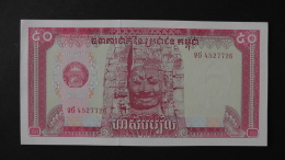 Cambodia - 50 Riels- 1979- P 32a - Unc - Look Scan - Kambodscha