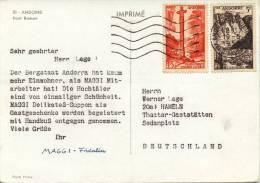 43 Ansichtkaarten Verstuurd Wereldwijd (1958-1965) - Stamps