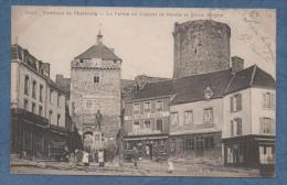 50  Environs De CHERBOURG   LA STATUE DU GENERAL MAROIS ET LE VIEUX DONJON   1903 - Cherbourg