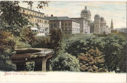 Blick Von Der Kleinen Schanze, Bern Switzerland TB Unused - BE Berne