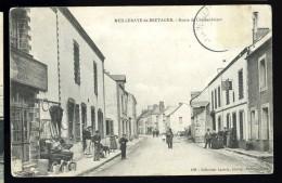 Cpa Du  44  Meilleraye  De  Bretagne Route De Châteaubriant  ...  Moisdon La Rivière  Châteaubriant   MABT05 - Moisdon La Riviere