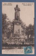 69 RHÔNE - CP LYON - CROIX ROUSSE - STATUE DE JACQUARD JOSEPH MARIE - N° 5347 SANS NOM D'EDITEUR - CIRCULEE 1923 - Other