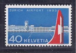 Switzerland1953: AIRPLANE Michel585mnh** - Zwitserland