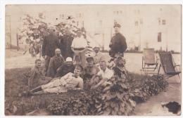 Magdeburg:Kriegsgefangenenlager.(carte-photo, Erster Weltkrieg,1917) - Habay