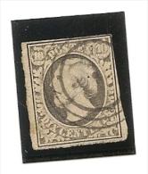 Luxembourg N° 1 Oblitéré Deuxiéme Choix Un Clair Sinon Trés Beau - 1852 Guglielmo III