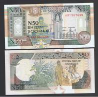 SOMALIA - 50 N. Shilling   1991  SC  P-R2 - Somalia