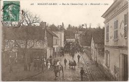 """NOGENT - Le - ROI  -  Rue Du Chemin - Neuf ; """" La Mascarade """" 1909 - Sonstige Gemeinden"""