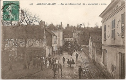 "NOGENT - Le - ROI  -  Rue Du Chemin - Neuf ; "" La Mascarade "" 1909 - Andere Gemeenten"