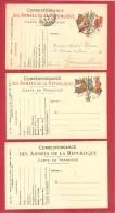 N°Y&T TYPE A1   OBLITEREE+ 2 CARTES EN FRANCHISE NEUVES - Marcophilie (Lettres)