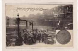 PARIS (75000)/EVENEMENTS/GREVES /GREVE DES CHEMINOTS DU NORD/Les Soldats Surveillant L'entrée Et La Sortie Des Trains Et - Grèves