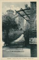 Italy Torino Strada d'Ingresso al Castello Mediovale