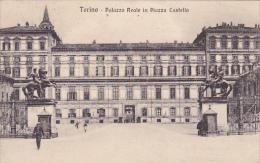 Italy Torino Palazzo Reale in Piazza Castello 1916