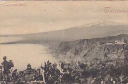Italy Taormina Panorama 1903 - Italy