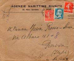 1926 LETTERA - Storia Postale
