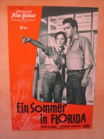 Illustrierte Filmbühne Nr. 6204 Ein Sommer In Florida Follow That Dream Elvis Presley J. Moore 1962 Kino Film  Programm - Magazines