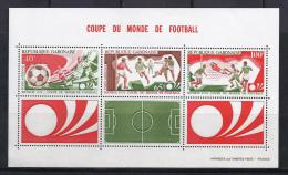 FÚTBOL - GABON 1974 - Yvert #H23 ** - Precio Cat. €4.50 - Copa Mundial