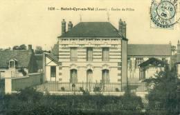 Saint-Cyr-en-Val  Ecoles De Filles  Cpa - Autres Communes