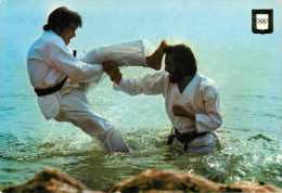 Dép 56 - Sports De Combat - Arts Martiaux - Karaté - Mikazuki-Geri - Semi Moderne Grand Format - état - Martiaux