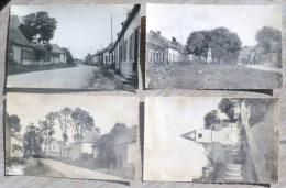 Rubempré Somme Lot 4x Photo Du Village R.  BOREL N° 114 Place Rue  Nd La Haut Eglise +- 1950 - France