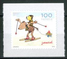 SVIZZERA / HELVETIA 2012** - Janosch - 1 Val. Autoadesivo Come Da Scansione - Nuovi