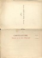 Carte Lettre - Souvenir De La Cote D' Emeraude - Agence Le Cocq - Banquier - Dinard - 8 Vues - Dinard