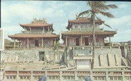 CHIH KAN FORT, LOCATED ON THE REMAINS OF THE FORT PORVIDENTIA BUILT BY THE DUTCH IN 1650 - China