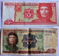CUBA.2004.1995.3 PESOS.TROIS PESOS .CHE GUEVARA. - Cuba