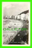 RIO DE JANEIRO, BRAZIL - COPACABANA BEACH - ANIMATED OLD CARS - WRITTEN AROUND 1940 - - Rio De Janeiro