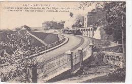21954 Saint Brieuc 22 France  Point De Depart Des Chemins De Fer Departementaux. Petite Gare -3430 Hamonic Train Vapeur - Trains
