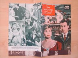 Das Neue Filmprogramm Im Weissen Rössl Peter Alexander Karin Dor Waltraut Haas Kino Film Programm Cinema - Magazines