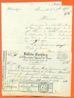 "52 - Chaumont  "" Courrier Meteorologique - Bulletin Quotidien - 3 Feuillets "" 1873 - Frankrijk"