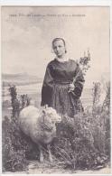 21961 FILLE DES LANDES POINTE  RAZ AUDIERNE 29 France -1053 VILLARD -mouton Coiffe Bretonne